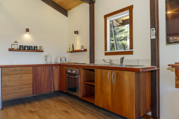 Hofer Chalet - fully equipped kitchen