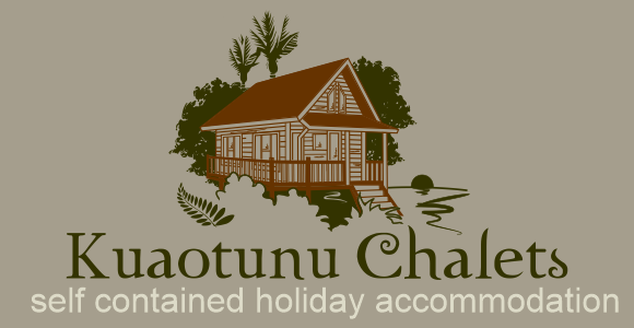 Kuaotunu Chalets holiday accommodation private and self contained Coromandel NZ